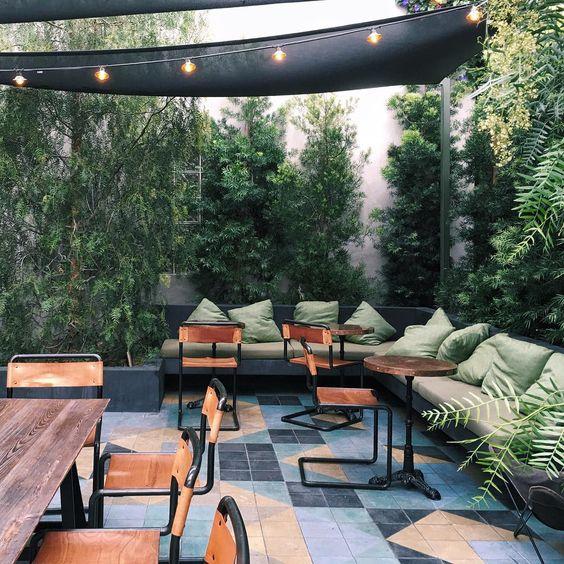 thiết kế cafe sân vườn đà nẵng 1