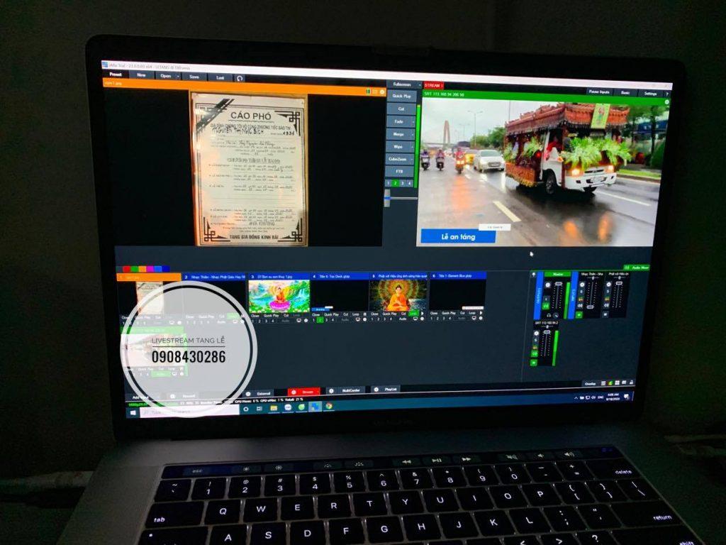 livestream tang le da nang