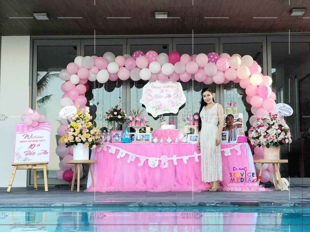 Cho thuê đồ trang trí sinh nhật Đà Nẵng