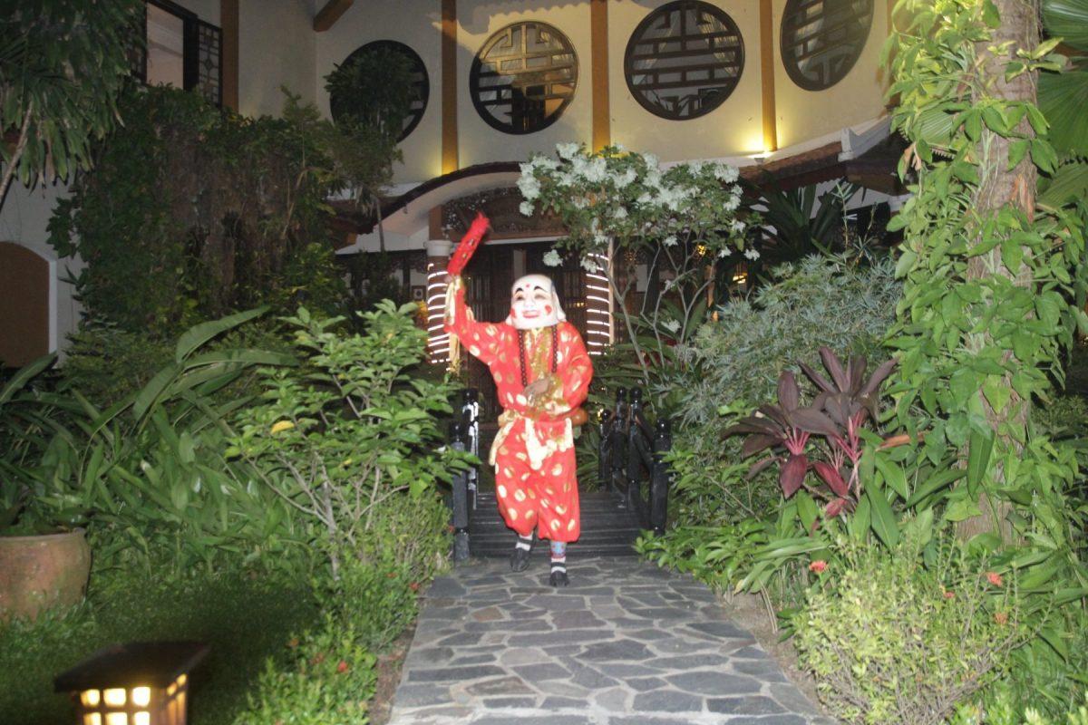 Múa lân thần tài tại Đà Nẵng